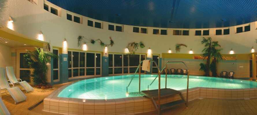 Gönnen Sie sich ein wenig Entspannung im Wellnessbereich des Hotels, weit weg von den Sorgen des Alltags.