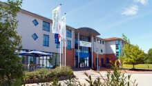 Das Hotel hat eine ruhige Lage in der Nähe von Wismar und der Ostseeküste.