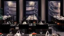 Hotellets à la carte-restaurang Zilver serveras en spännande meny