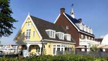 Charmerende hotel med en helt unik beliggenhed ved havnen i Huizen.