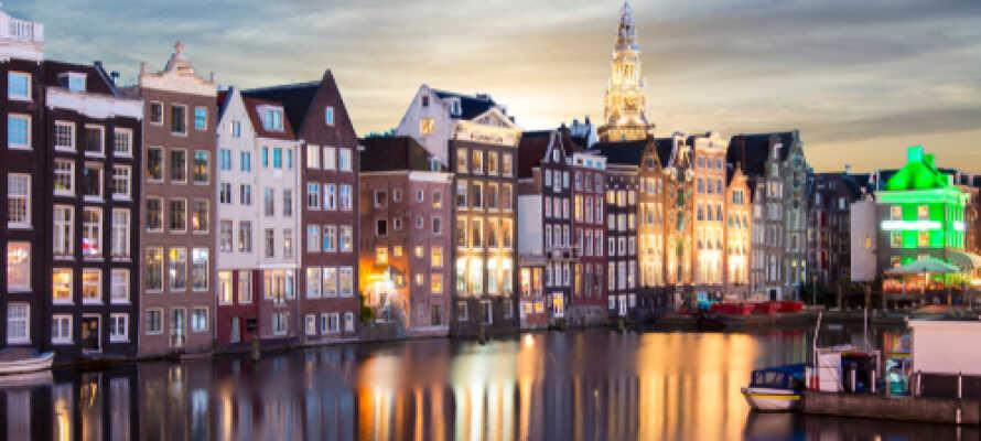 Amsterdam har så uendeligt meget at byde på med et væld af seværdigheder og spændende museer.