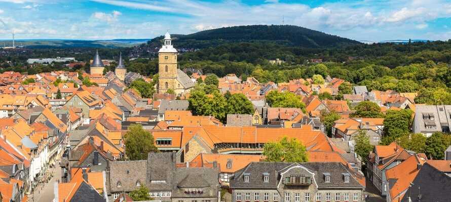 Goslar er en historisk by med over 500 år på bagen, hvilket også afspejles i byens varierede arkitektur.