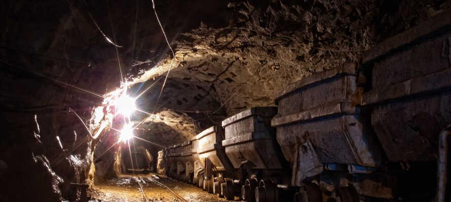 Rammelsberg Minen ligger få km fra hotellet og her kan dere bli med på en av de guidede turene ned i minen