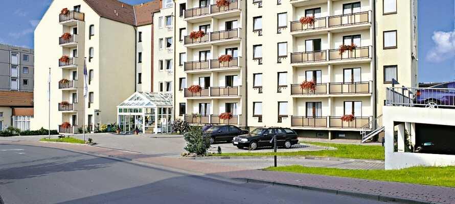 Dette hotellet ligger fint til i den nordlige delen av Thüringer Wald og har fine naturopplevelser i Midt-Tyskland