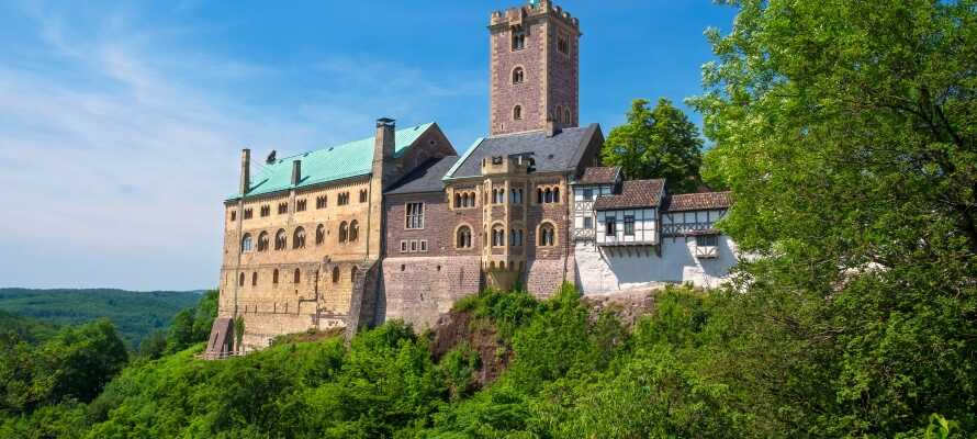 Dere har god mulighet til å besøke det berømte Wartburg i Eisenach