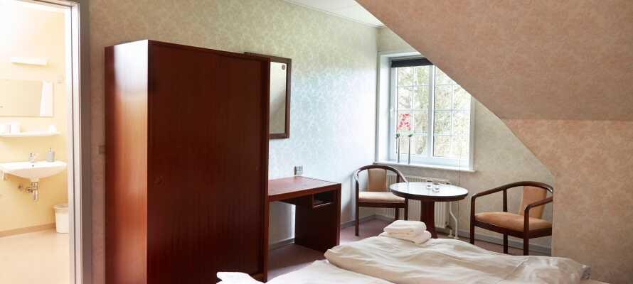 Abild Kro og Hotel erbjuder enkla och bekväma rum för en härlig semester på Jylland.