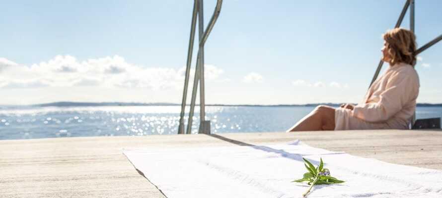Fra hotellet har I ikke langt til den smukke kulturby, Aarhus, hvor utallige oplevelser venter