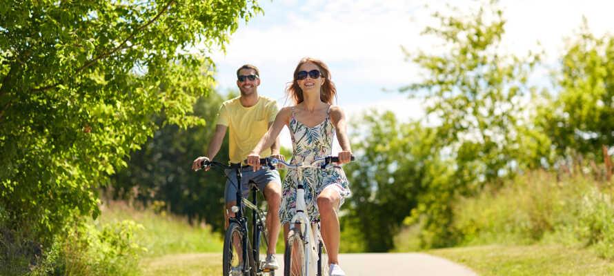 Utforska Skånes vackra natur där ni hittar härliga vandrings- och cykelleder