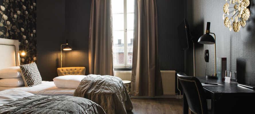 Sie wohnen in schönen,  stilvollen Zimmern, die alle frisch renoviert wurden und ein großes Maß an Komfort bieten.