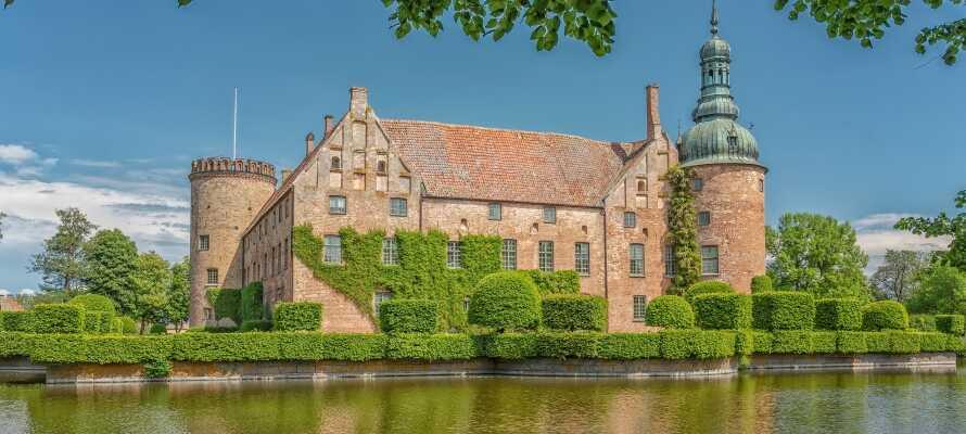 Schloss Vittskövle ist eines der am besten erhaltenen Renaissanceschlösser Schwedens und Schonens größtes Gebäude.