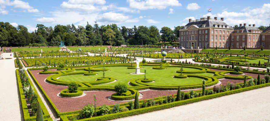 Paleis Het Loo är idag ett storslaget museum med tillhörande barrockparker och en labyrint-trädgård.
