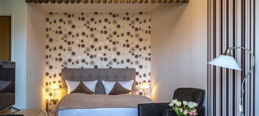 Genießen Sie einen herrlichen Aufenthalt mit charmanten Zimmern und freundlichem, entgegenkommendem Personal.