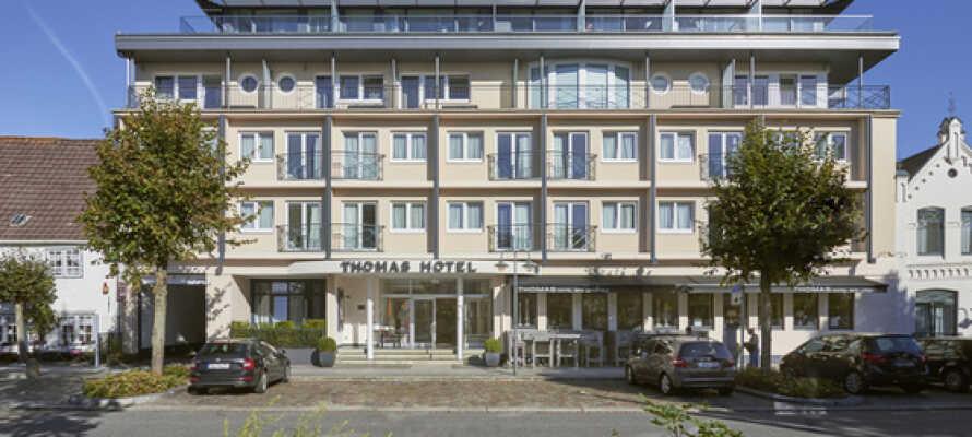 Hotellet byder på spa og wellness og egner sig godt til en wellnessferie med en ven eller veninde.