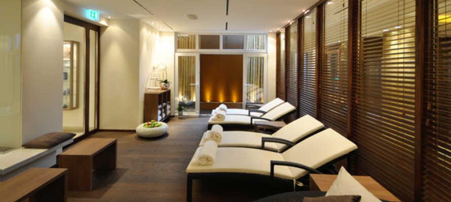 Der er både spa og wellness på hotellet, så sørg for at bestille tid.