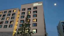 Velkommen til det moderne 4-stjernede JUFA Hotel Hamburg HafenCity