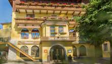 Dette charmerende hotel ligger blot ca. 10 km. syd for Salzburg