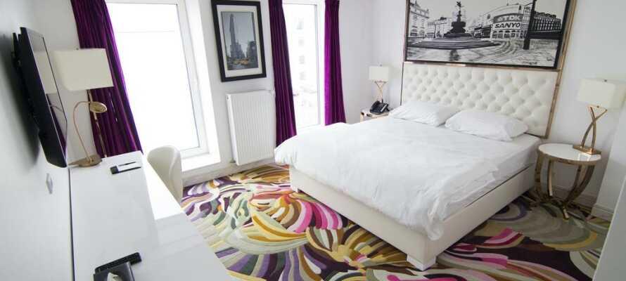 Det flotte og ganske nye A Hotels Copenhagen tilbyr store lekre rom, med et herlig 4-stjerners komfortnivå.