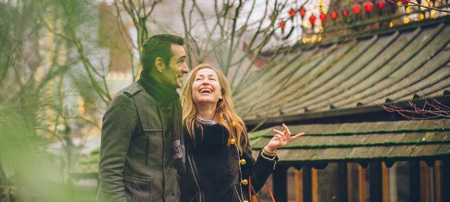 Kopenhagen ist auch perfekt für einen romantischen Urlaub für 2 - mit Sightseeing, Shopping und vielen schönen Erlebnissen.