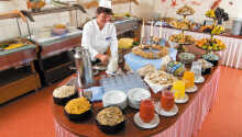 Stå op til en lækker morgenbuffet