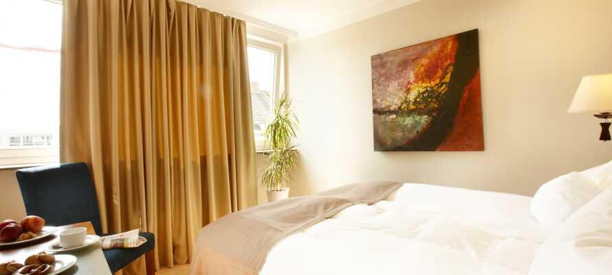 De vackra och komfortabla rummen ger er en trevlig bas under er semester