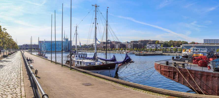 Närheten till havet i kombination med många kulturella attraktioner gör Kiel till en populär destination