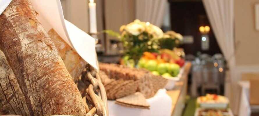 Med Risskov Bilferie tilbydes I en herlig hotelpakke med morgenmad til en yderst fordelagtig pris