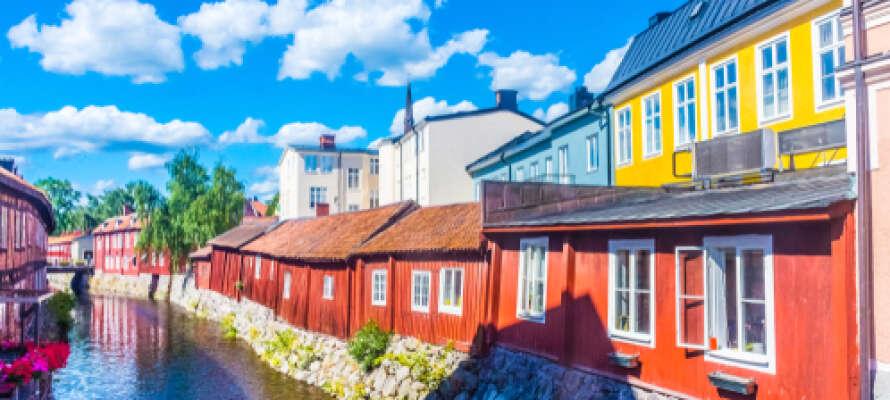 Det maleriske Västerås er et besøg værd, få lidt godt at spise og nyd freden.