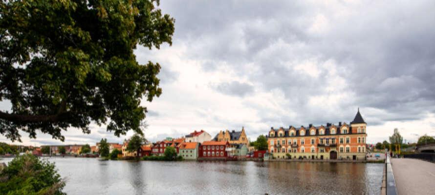Eskilstuna er den største byen i Södermanlands län og har ca. 65.000 innbyggere.