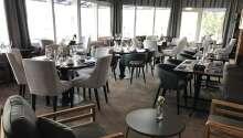 Menuen i Restaurang Storm har både hummer, krebs, østers, rejer, muslinger og oksekød på menuen.