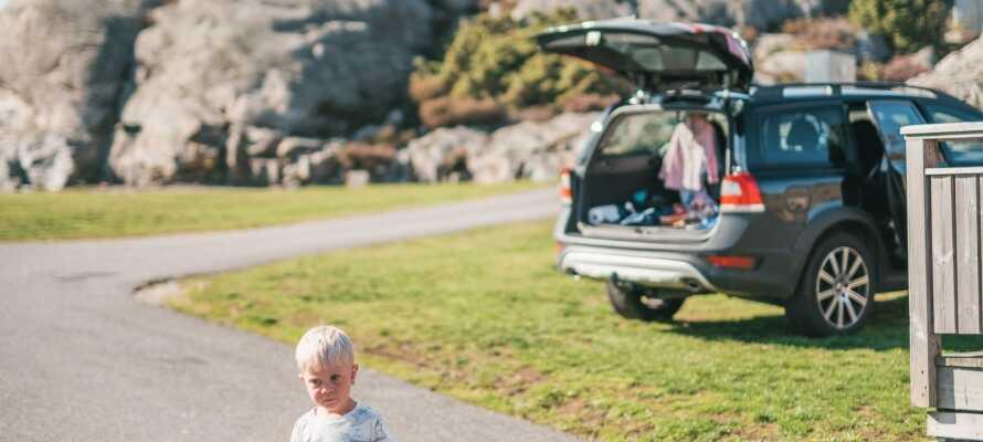 Packa bilen och kör själva till Hav & Logi för oförglömliga upplevelser