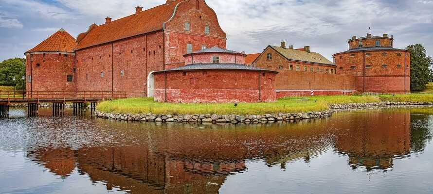 Machen Sie Ausflüge, und besuchen Sie z. B. die Insel Ven, erleben Sie das Schloss Sofiero und seine Gärten oder sehen sich die Zitadelle in Landskrona an.