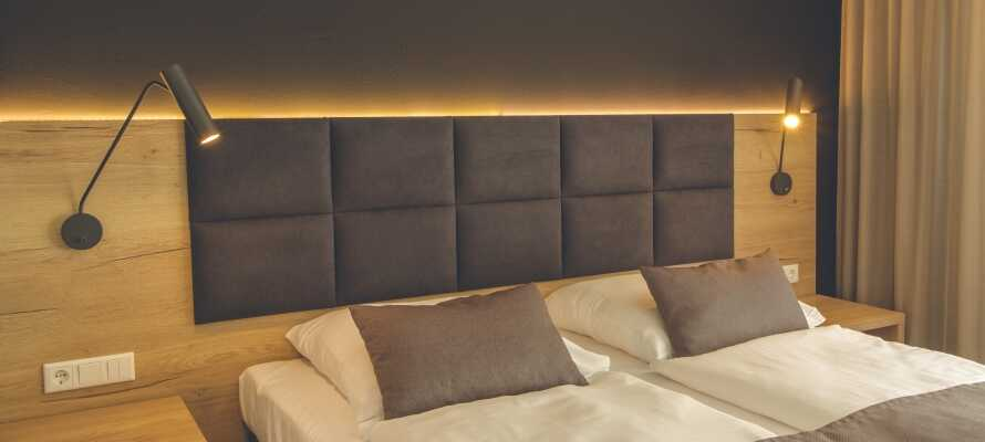 Eichhorn's Hotel & Restaurant er et moderne hotell, med flotte og store værelser samt bad.