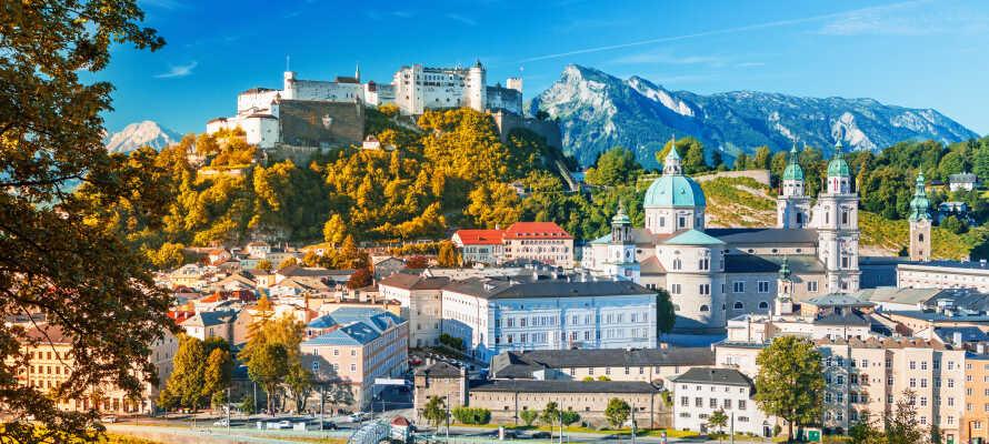 Salzburg er en historisk by omgitt av nydelig natur