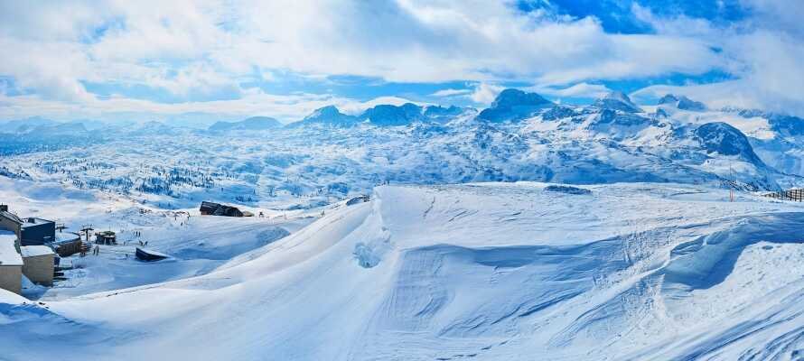 Die Region Dachsteingebirge ist ideal für Skiaktivitäten und bietet ein spannendes Skigebiet.