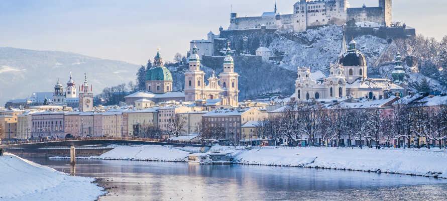 Erleben Sie die wunderschöne Stadt Salzburg, die im Winter ein ganz besonderes Erlebnis ist.