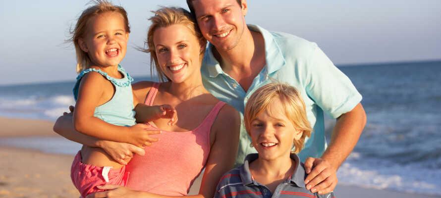 Westerkrug tilbyder alletiders base for en familieferie med herlige ture til østersøkysten.