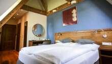 Der er værelser for enhver smag, he et eksempel på et Komfort Plus værelse.