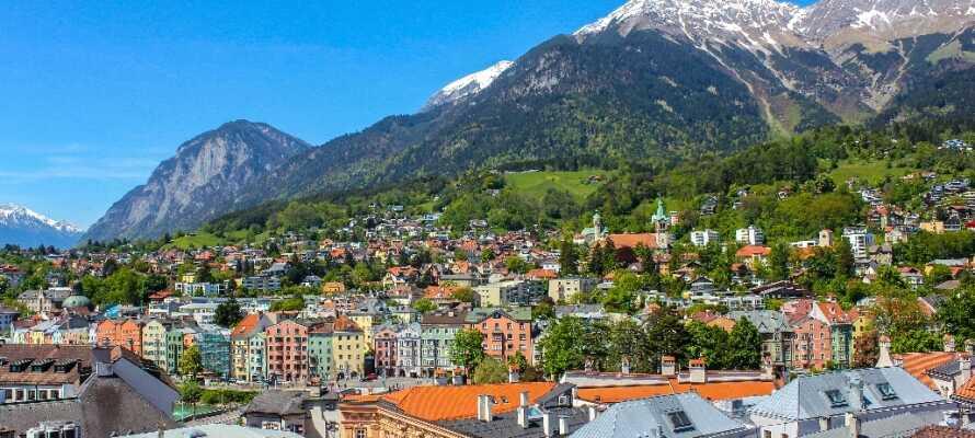 Staden är känd som Alpernas huvudstad.