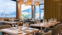 Nyd en dejlig omgang morgenmad efter ønske i restauranten, 'The Grill',