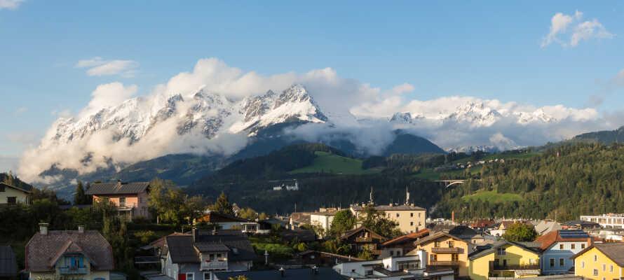 Bischofshofen er et av Østerrikes mest populære alpine områder.