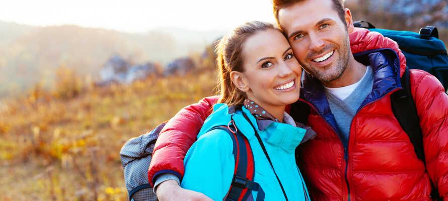 Njut av naturen och en underbar och avslappnande semester med din partner, dina vänner eller familj