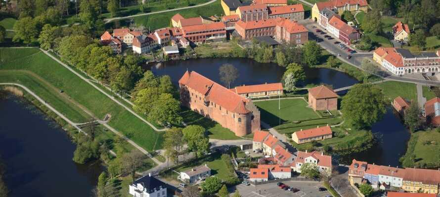 Fra hotellet er det heller ikke langt til f.eks. Nyborg Slott