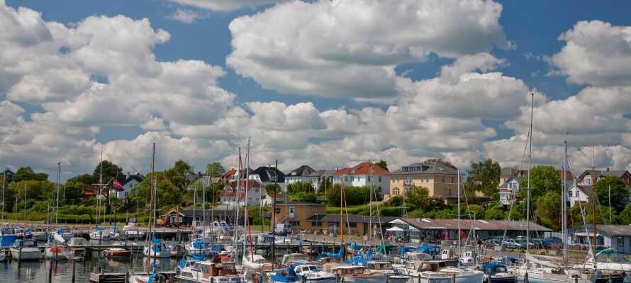Fra hotellet er det heller ikke langt inn til Nyborg, som byr på et hav av opplevelser.