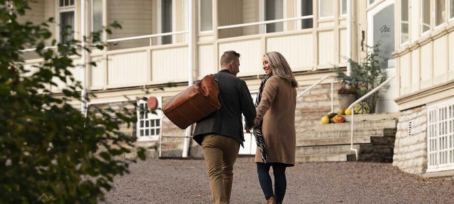 Spa-byen Mösseberg er et historisk spa-hotell med røtter fra 1867.