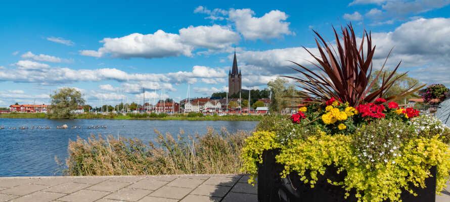 Mariestad er en yderst charmerende by med rødder tilbage i 1500-tallet, og kaldes ofte for 'Vänerns perle'.