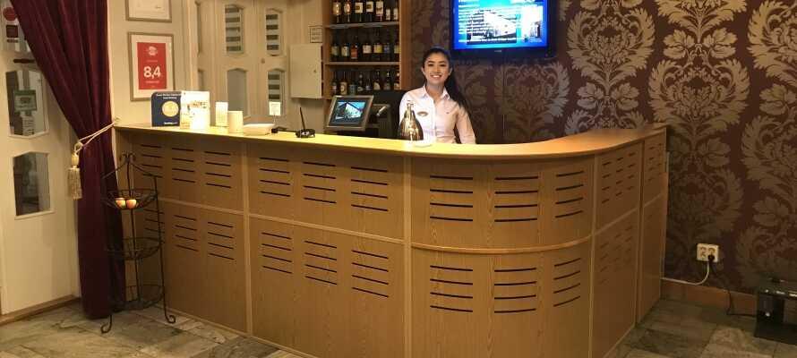 Hotellet bjuder på personlig service och har stort fokus på sitt arbete kring hållbarhet och miljö.