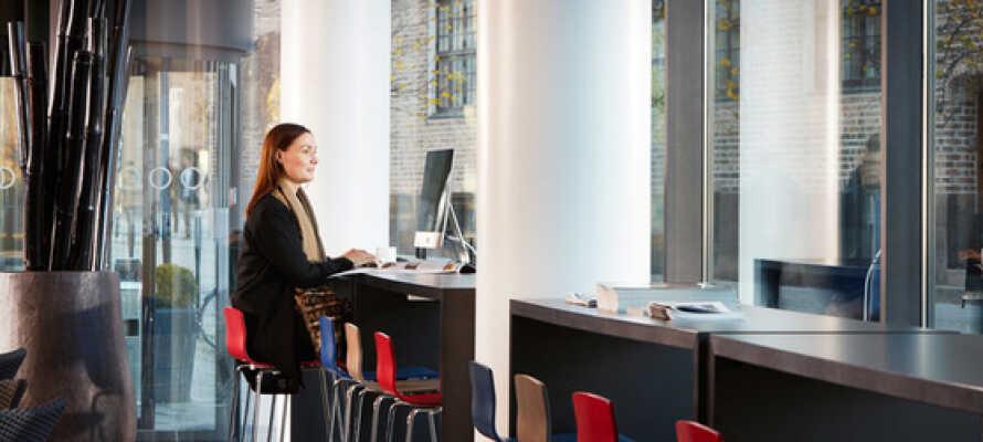 Cabinn Aalborg bjuder på en avslappnande atmosfär och god service.