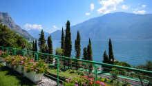 Garda Suite Hotel ligger direkte ved Gardasøen