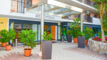 Det 4-stjärniga hotellet ligger vackert i utkanten av Limone sul Garda