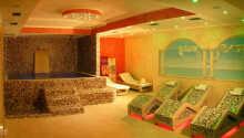 Under er vistelse kan ni kostnadsfritt använda hotellets härliga spa-avdelning
